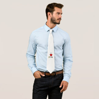 I LOVE J  (jerusalem) CITY tie
