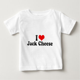 I Love Jack Cheese T-shirt