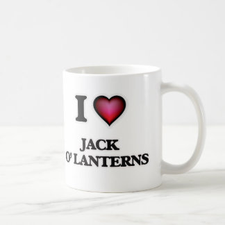 I Love Jack O' Lanterns Coffee Mug