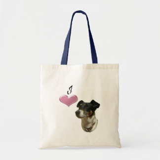 I love Jack Russell dogs Tote Bag