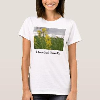 I Love Jack Russells t-shirt
