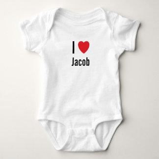 I love Jacob Baby Bodysuit