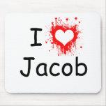 I love Jacob Mouse Pad