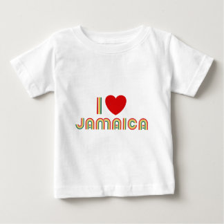 I Love Jamaica Baby T-Shirt