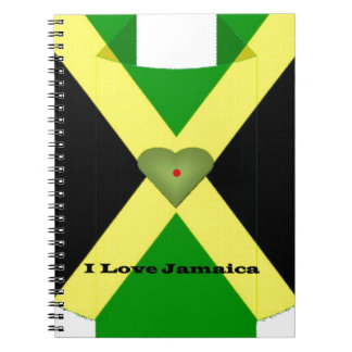 I Love Jamaica Have a Nice Day and a Better Night Note Book
