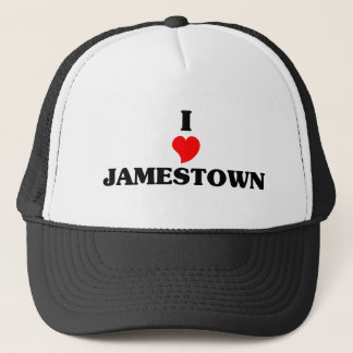 I love Jamestown Trucker Hat