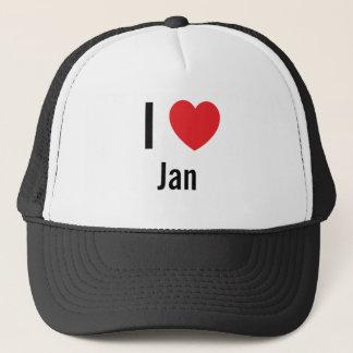 I love Jan Trucker Hat