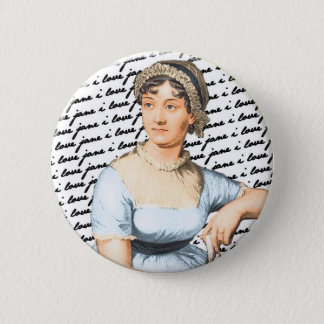 I love Jane Austen 2 Inch Round Button