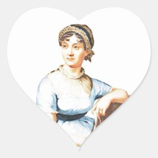 I Love Jane Austen Sticker