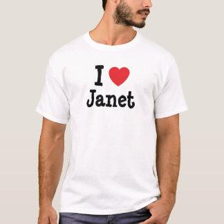 I love Janet heart T-Shirt