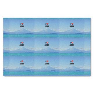 """I Love Japan,"" Mt. Fuji Tissue Paper"