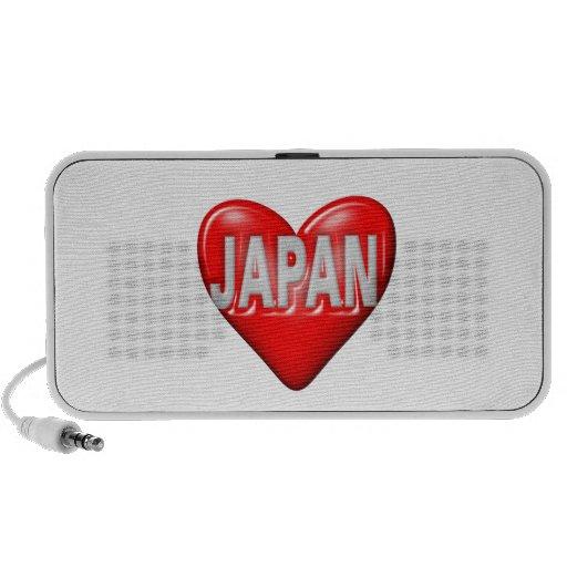 I Love Japan Travelling Speaker