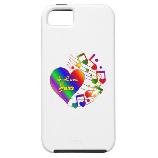 I Love Jazz Case For The iPhone 5
