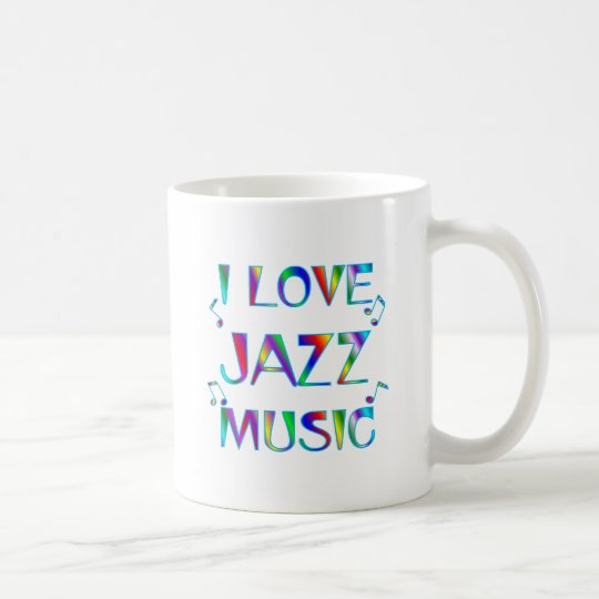 I Love Jazz Coffee Mug