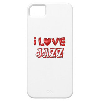I Love Jazz iPhone 5 Case