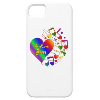 I Love Jazz iPhone 5 Covers