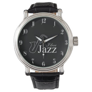 I love jazz watch