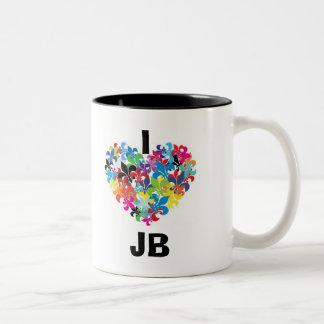 I love JB Two-Tone Coffee Mug