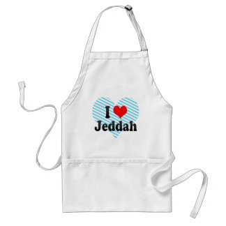 I Love Jeddah, Saudi Arabia Standard Apron