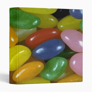 I Love Jelly Beans 3 Ring Binders