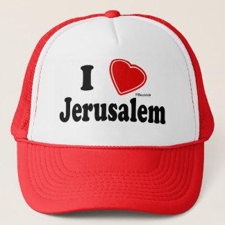I Love Jerusalem Trucker Hat