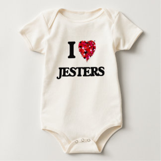 I Love Jesters Baby Bodysuit