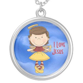 I Love Jesus 2 Necklace