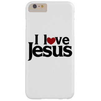 I love Jesus Barely There iPhone 6 Plus Case