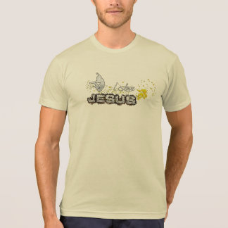 I love JESUS Jean 13:34-35 T-Shirt