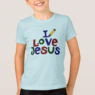 I Love Jesus / Jesus Loves Me Christian T-Shirt