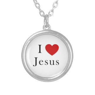 I love Jesus Necklace