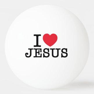 I love Jesus Ping Pong Ball