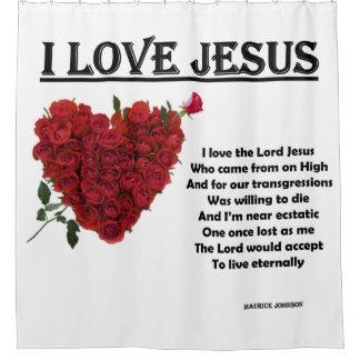 I Love Jesus - White