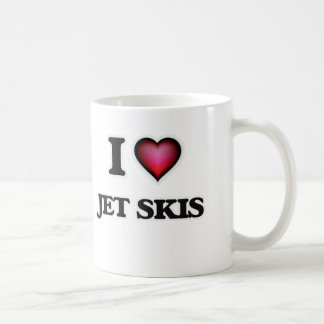 I Love Jet Skis Coffee Mug