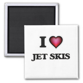 I Love Jet Skis Magnet