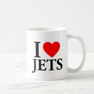I Love Jets Coffee Mug
