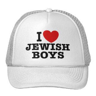 I Love Jewish Boys Trucker Hat