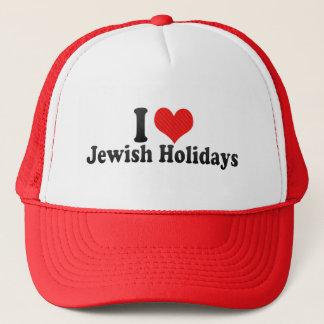 I Love Jewish Holidays Trucker Hat