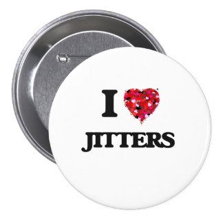 I Love Jitters 3 Inch Round Button