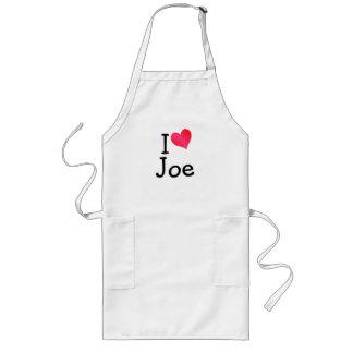 I Love Joe Long Apron