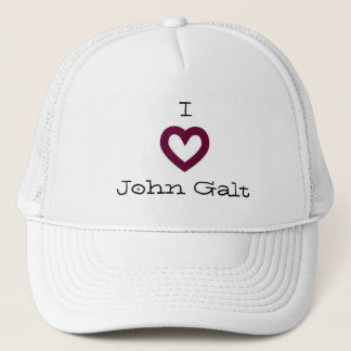 I Love John Galt Trucker Hat