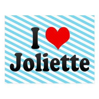 I Love Joliette, Canada. I Love Joliette, Canada Postcard