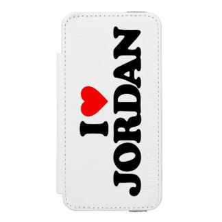 I LOVE JORDAN INCIPIO WATSON™ iPhone 5 WALLET CASE