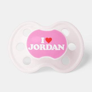 I LOVE JORDAN PACIFIER