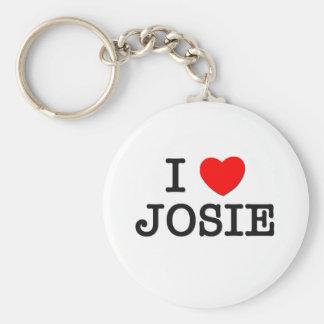 I Love Josie Keychain