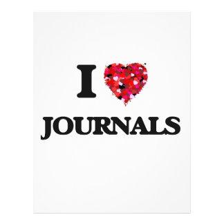 I Love Journals Full Colour Flyer