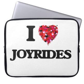 I Love Joyrides Computer Sleeve