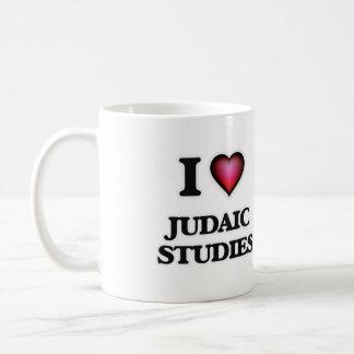 I Love Judaic Studies Coffee Mug