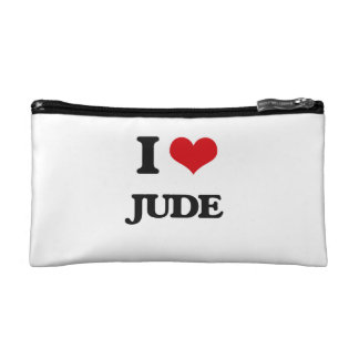 I Love Jude Cosmetic Bag