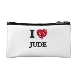 I Love Jude Makeup Bag